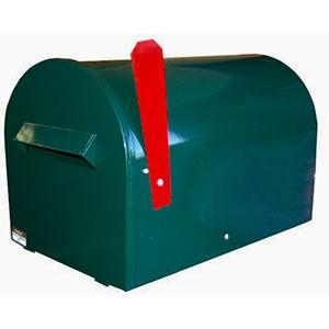 round rural letterbox