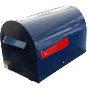 round rural letterboxes